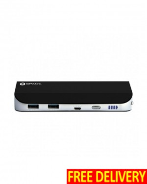 Space Thunder+ Dual Ports Power Bank - 10400mAh