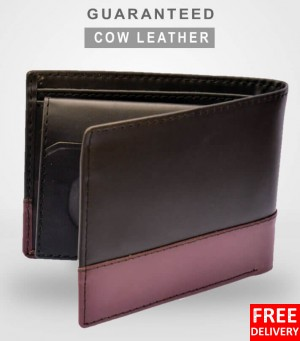 5CL Cow Leather Bi-Colored Wallet