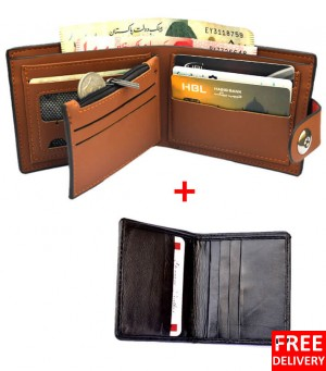 A Wallet With Card Holder