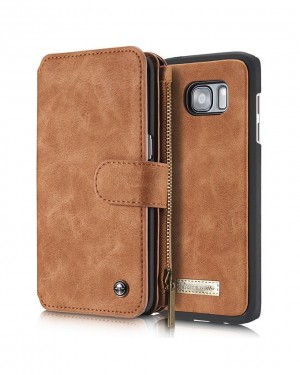 Samsung Note5 CaseMe Leather Wallet Case - Brown