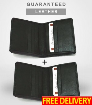 Leather Card Holders - Pack of 2
