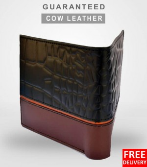 Cow Leather Croco Series Wallet in Pakistan