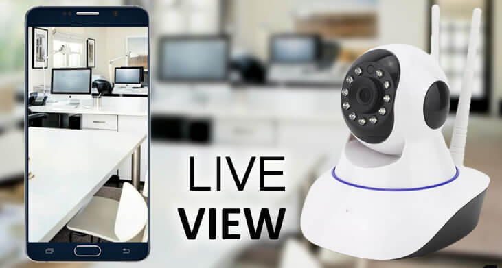 Wifi IP Camera Live View