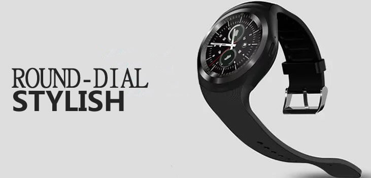 Round Dial Smart Watch Y1