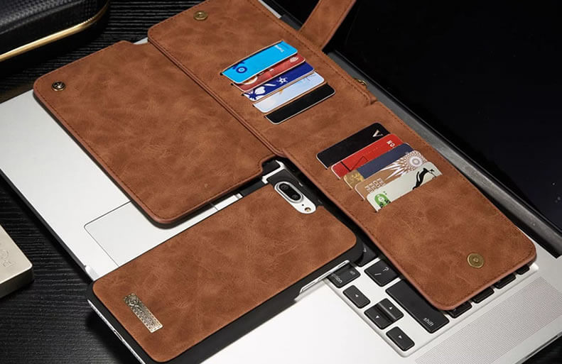 iPhone 7 Plus Leather Wallet
